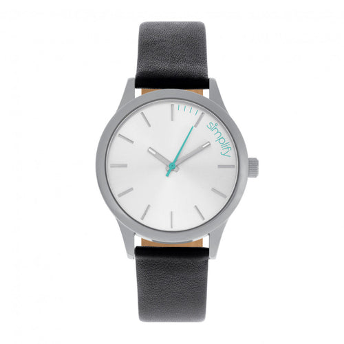 Simplify The 2400 Leather-Band Unisex Watch - SIM2401