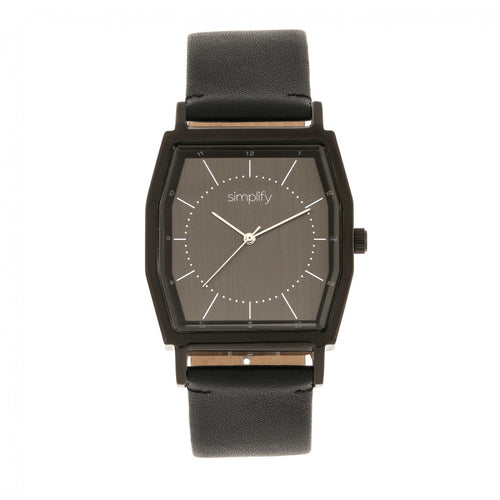 Simplify The 5400 Leather-Band Watch - SIM5404