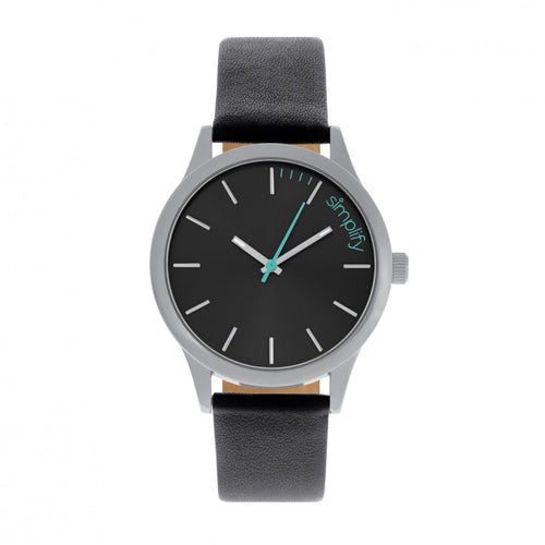 Simplify The 2400 Leather-Band Unisex Watch - SIM2402