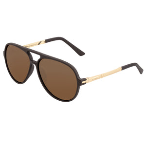 Simplify Spencer Polarized Sunglasses - Brown/Brown - SSU120-GD