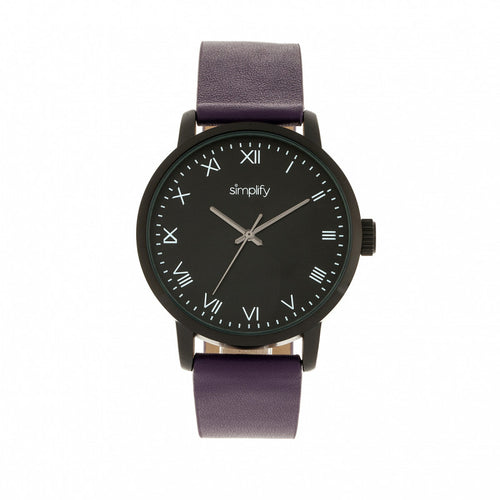 Simplify The 4200 Leather-Band Watch - SIM4207