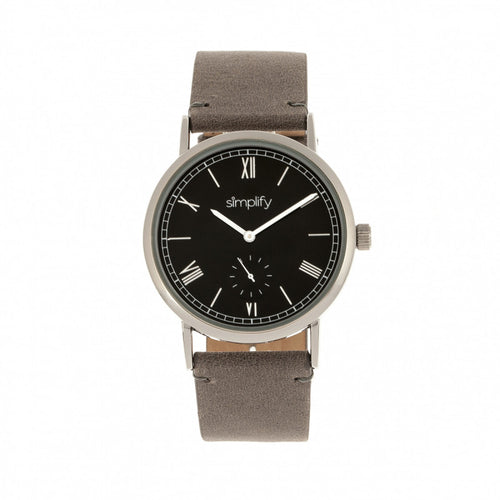 Simplify The 5100 Leather-Band Watch - SIM5104
