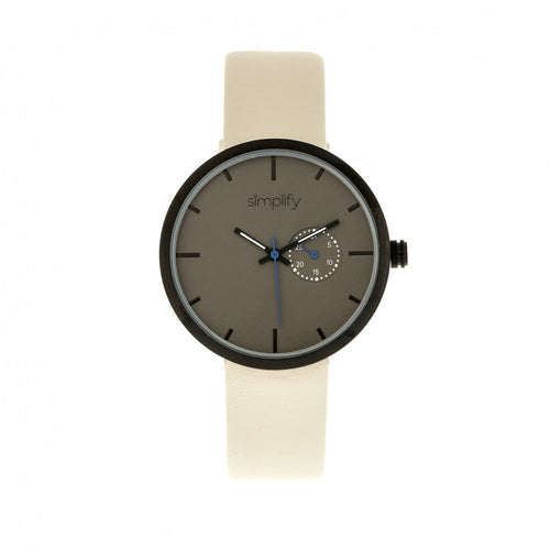 Simplify The 3900 Leather-Band Watch w/ Date - SIM3905