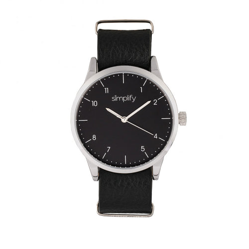 Simplify The 5600 Leather-Band Watch - SIM5602