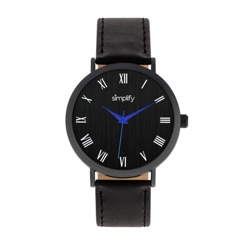 Simplify The 2900 Leather-Band Watch - SIM2904