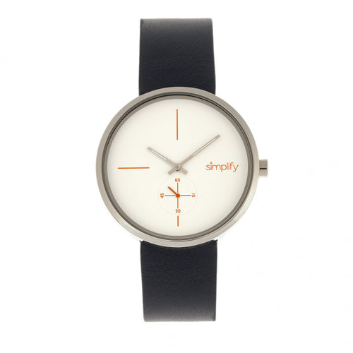 Simplify The 4400 Leather-Band Watch - SIM4401