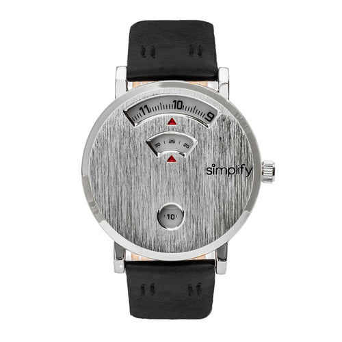 Simplify The 7000 Leather-Band Watch - SIM7001