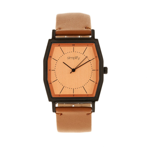 Simplify The 5400 Leather-Band Watch - SIM5406