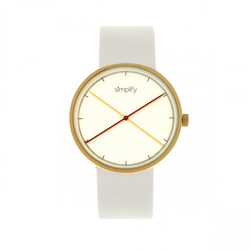 Simplify The 4100 Leather-Band Watch - SIM4104