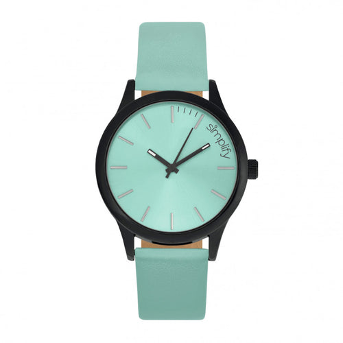 Simplify The 2400 Leather-Band Unisex Watch - SIM2407