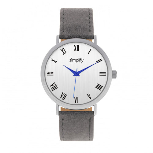 Simplify The 2900 Leather-Band Watch - SIM2902