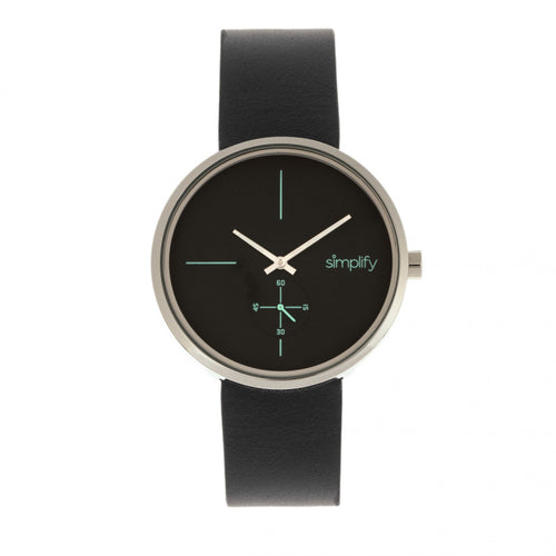 Simplify The 4400 Leather-Band Watch - SIM4402