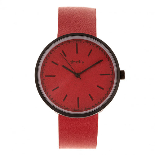Simplify The 3000 Leather-Band Watch - SIM3002