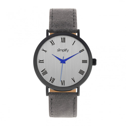 Simplify The 2900 Leather-Band Watch - SIM2906