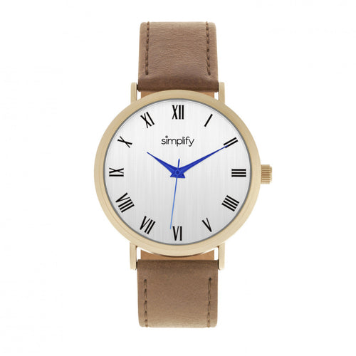 Simplify The 2900 Leather-Band Watch - SIM2903