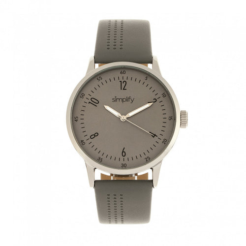 Simplify The 5700 Leather-Band Watch - SIM5703