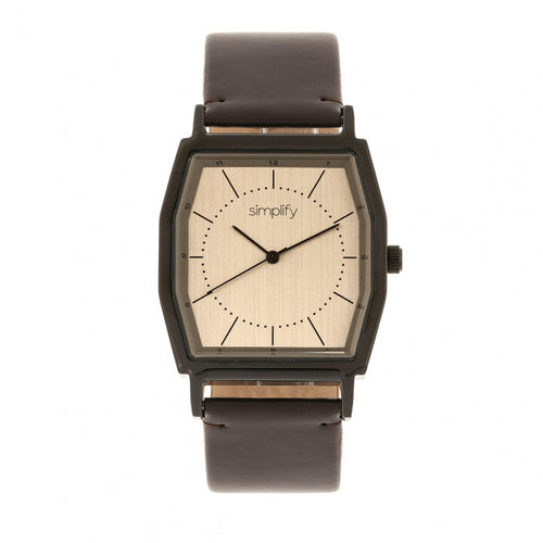 Simplify The 5400 Leather-Band Watch - SIM5405