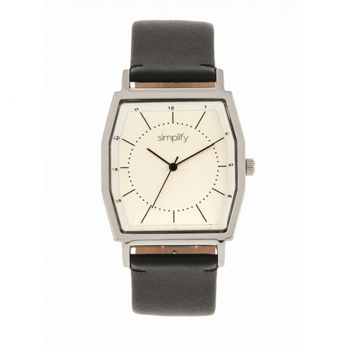 Simplify The 5400 Leather-Band Watch - SIM5401
