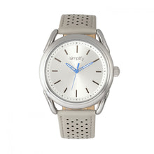 Load image into Gallery viewer, Simplify The 5900 Leather-Band Watch - Silver/Grey - SIM5902