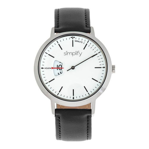 Simplify The 6500 Leather-Band Watch - SIM6501
