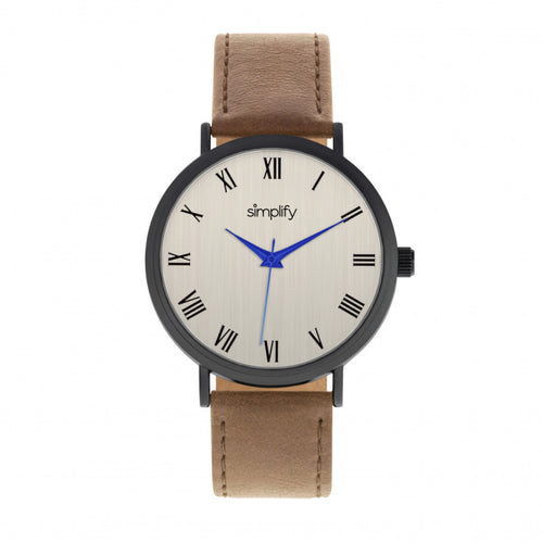 Simplify The 2900 Leather-Band Watch - SIM2905