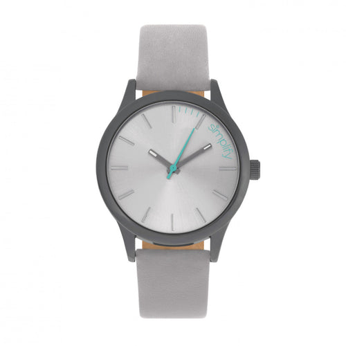 Simplify The 2400 Leather-Band Unisex Watch - SIM2403