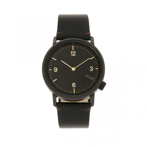 Simplify The 5500 Leather-Band Watch - SIM5502