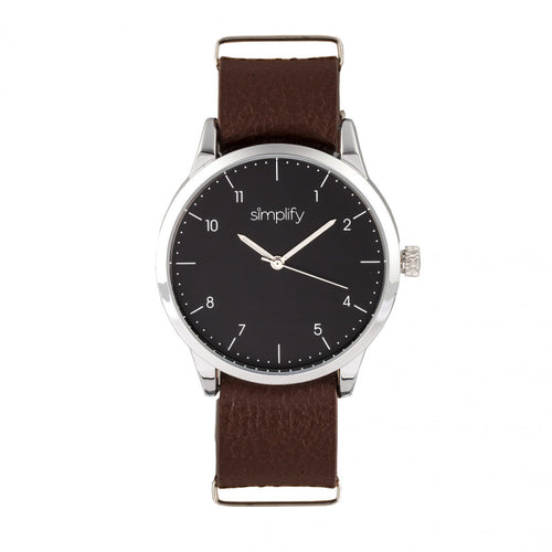 Simplify The 5600 Leather-Band Watch - SIM5603