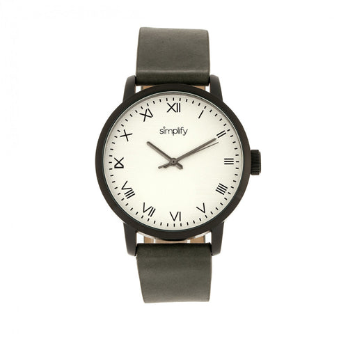 Simplify The 4200 Leather-Band Watch - SIM4205
