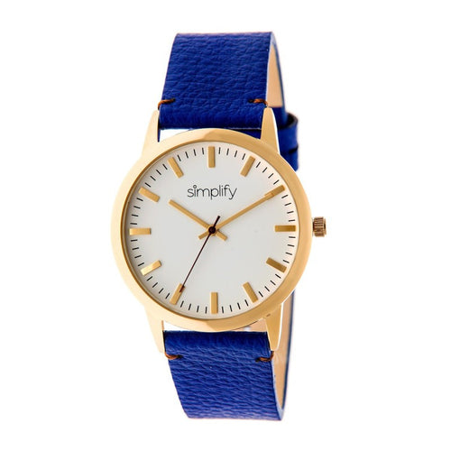 Simplify The 2800 Leather-Band Watch - SIM2804