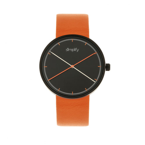 Simplify The 4100 Leather-Band Watch - SIM4103