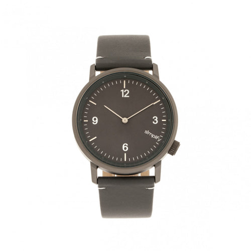 Simplify The 5500 Leather-Band Watch - SIM5506