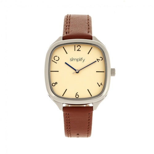 Simplify The 3500 Leather-Band Watch - SIM3505