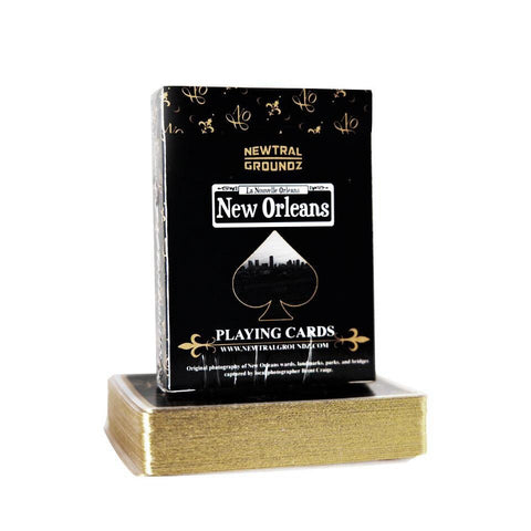 1st Edition New Orleans Luxury Playing Cards - French Quarter Shops