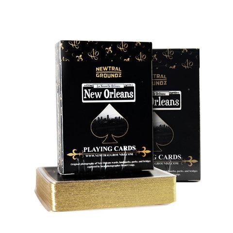 (2 Pack) 1st Edition New Orleans Luxury Playing Cards - French Quarter Shops