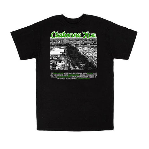 CLAIBORNE AVE. TEE *LIMITED EDITION* - NOLA Playing Cards