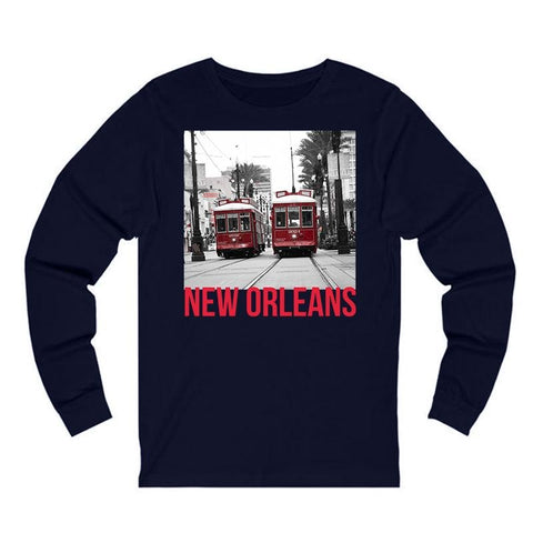 NEW ORLEANS LONG SLEEVE (CANAL STREET) - NOLA Playing Cards
