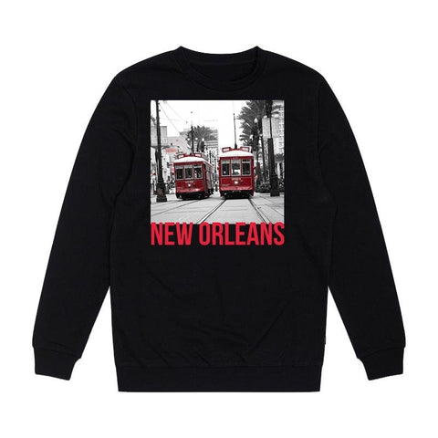 NEW ORLEANS PULLOVER SWEATSHIRT (CANAL STREET) - NOLA Playing Cards