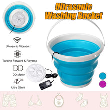 Load image into Gallery viewer, Ultrasonic Washing Machine Foldable Bucket