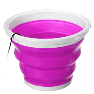 Ultrasonic Washing Machine Foldable Bucket