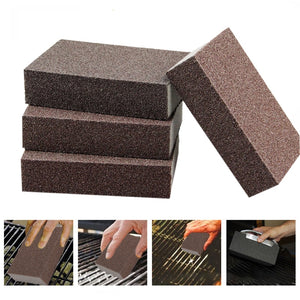 Cleaning Brick Block Barbecue Stone