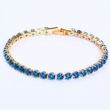 Load image into Gallery viewer, Brilliant Cubic Zirconia Tennis Bracelets