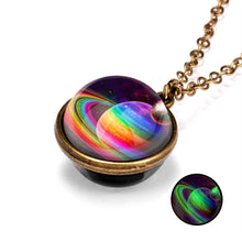 Load image into Gallery viewer, Galaxy Planet Necklace