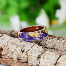 Load image into Gallery viewer, Handmade Dried Flowers Ring