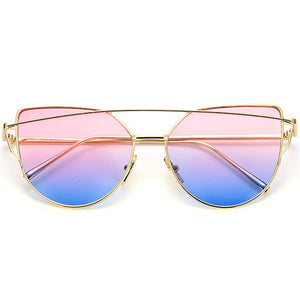 Vintage Metal Reflective sunglasses