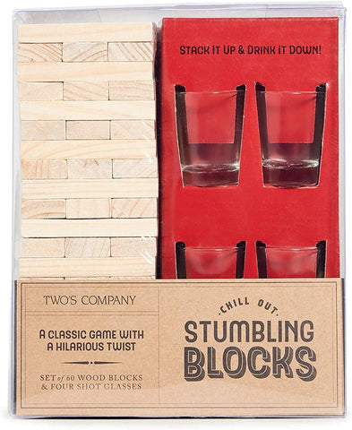 Chill Out Stumbling Blocks Game - Basket Pizzazz