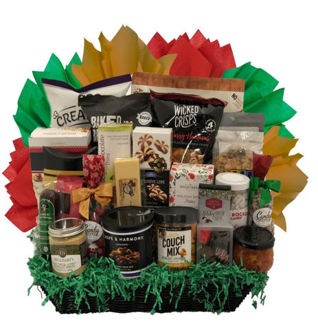 Festive Sampler - Basket Pizzazz