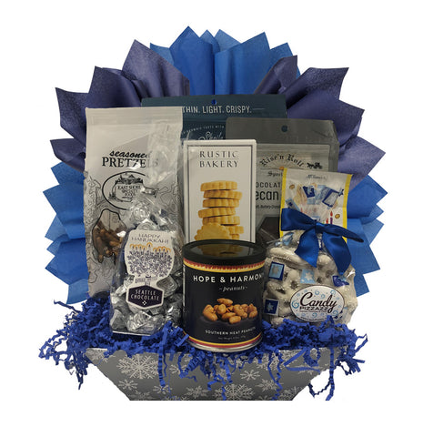 Hanukkah Treats - Basket Pizzazz