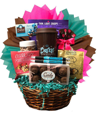 Corporate Gift Basket - Customized - Basket Pizzazz