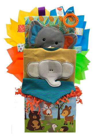 Elephant Baby - Basket Pizzazz